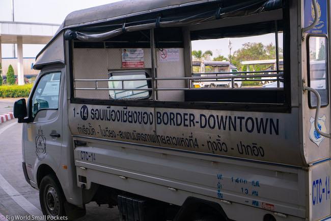 Thailand, Chiang Rai, Border Van