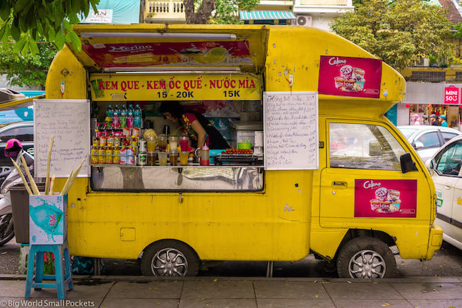 Vietnam, Hanoi, Food Stall
