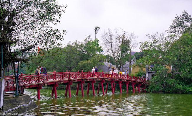 Vietnam, Hanoi, Lake