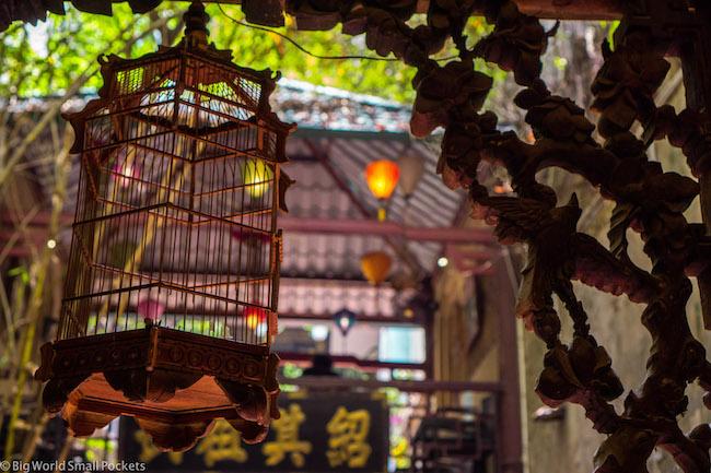 Vietnam, Hanoi Market, Bird Cage