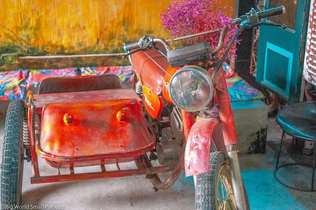 Vietnam, Hanoi, Motorbike