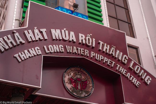 Vietnam, Hanoi, Water Puppet Theatre