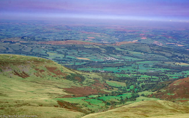 Wales, Brecon Beacons, Pen-Y-Fan View