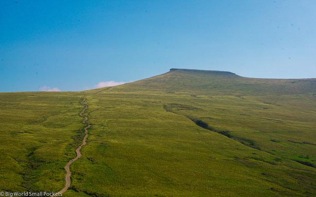 Wales, Brecon Beacons, Pen-Y-Fan