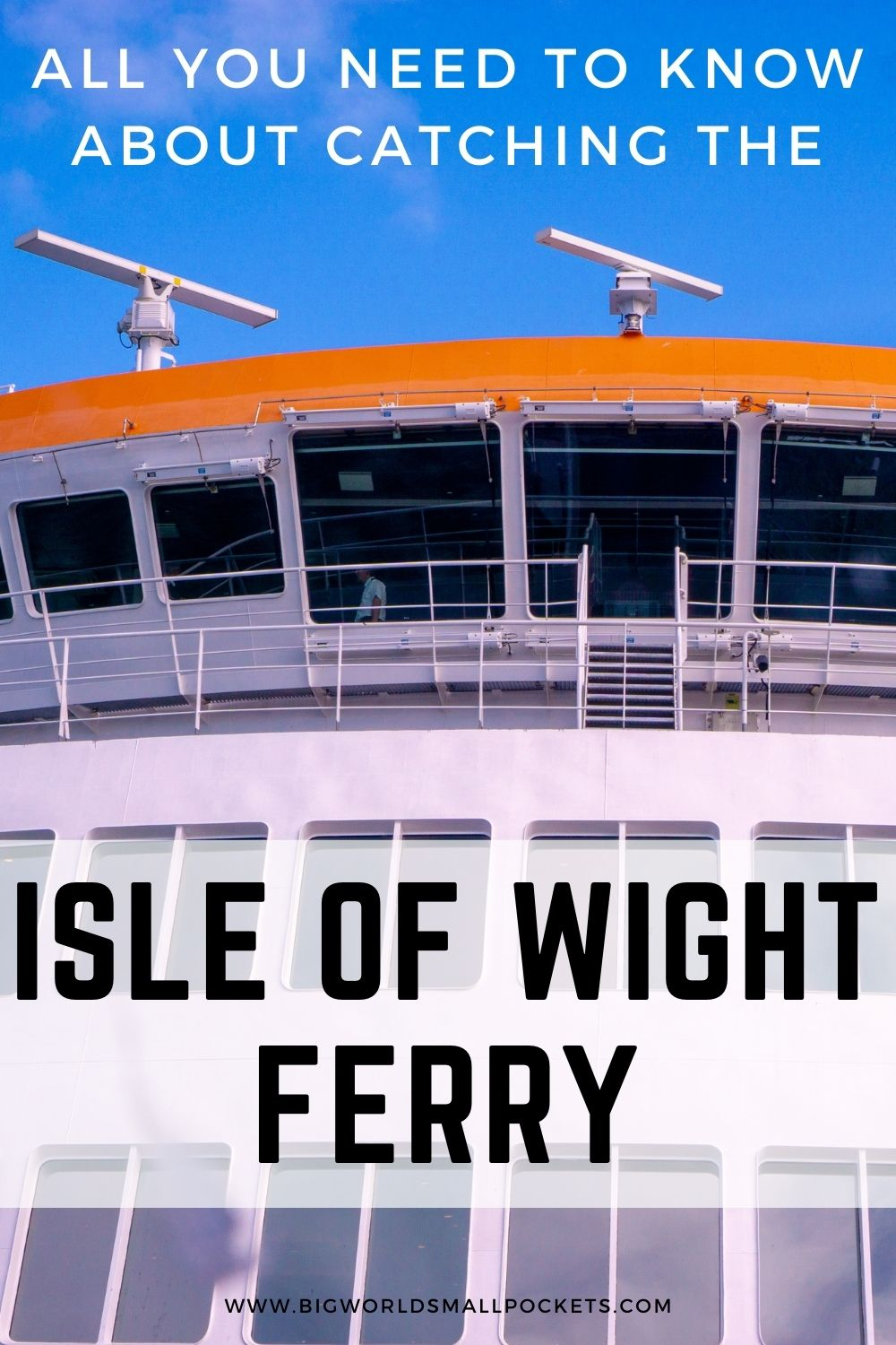 All You Need to Know About Catching the Isle of Wight Ferry