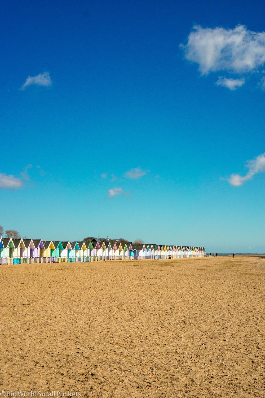 England, Essex, Mersea Island Beach