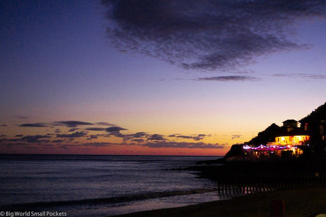 England, Isle of Wight, Sunset