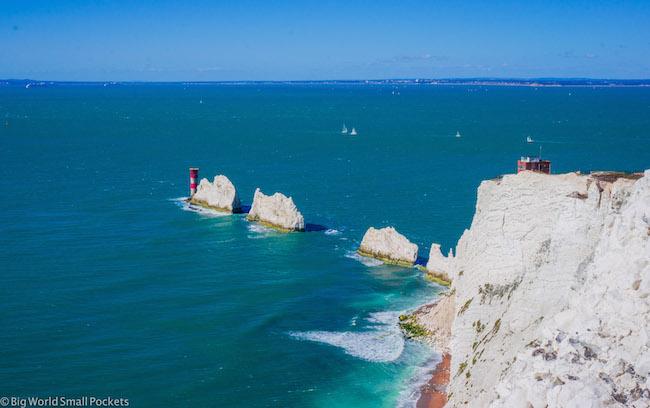 England, Isle of Wight, The Needles