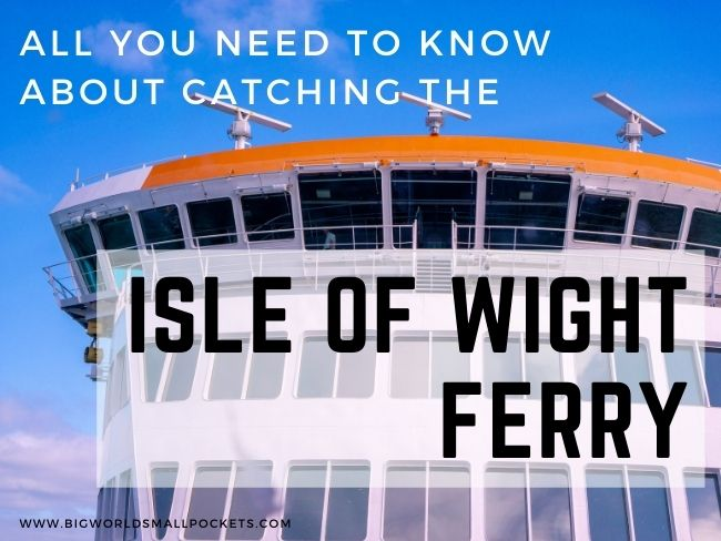 How to Catch the Isle of Wight Ferry