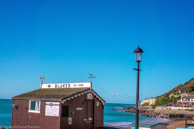 UK, Isle of Wight, Beach Hut