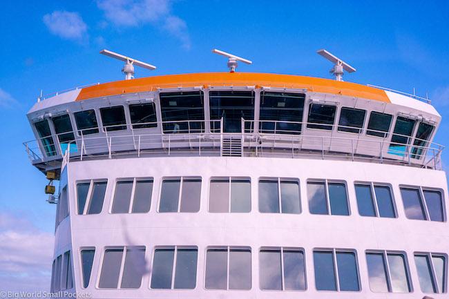 UK, Isle of Wight Ferry