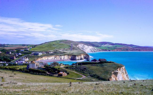 UK, Isle of Wight, Sea Views