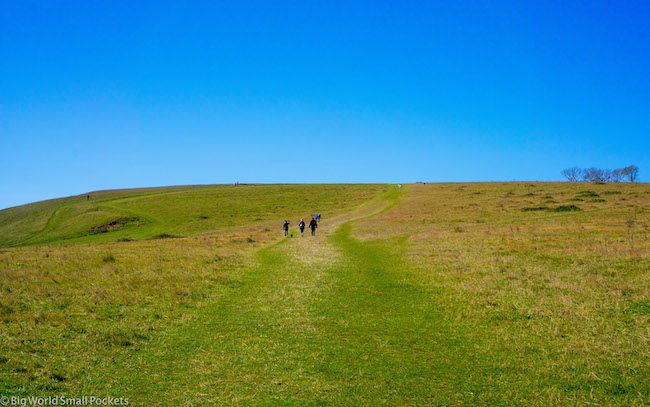 UK, Isle of Wight, Walking