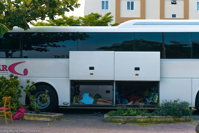 Vietnam, Hoi An, Bus