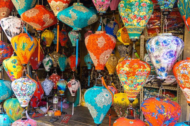Vietnam, Hoi An, Lanterns