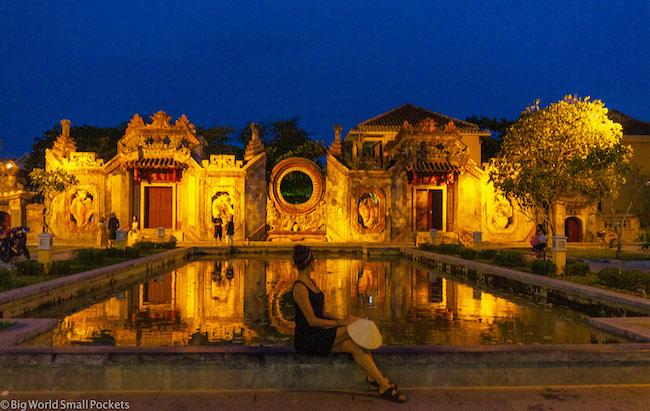 Vietnam, Hoi An, Me at Night