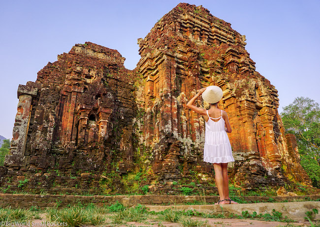 Vietnam, Hoi An, UNESCO My Son Ruins and Me
