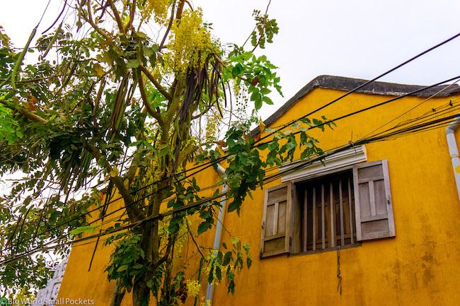 Vietnam, Hoi An, Yellow Building