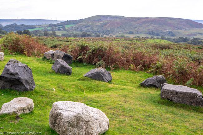 Wales, Brecon Beacons, Rocks