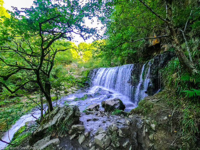 Wales, Brecon Beacons, Waterfall 1