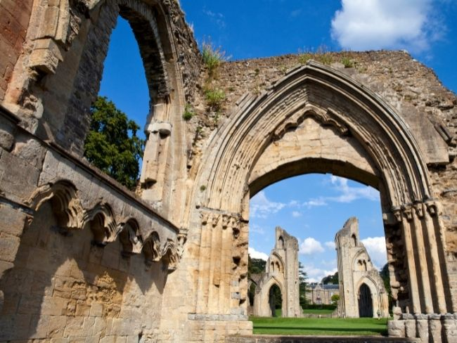 England, Glastonbury, Abbey