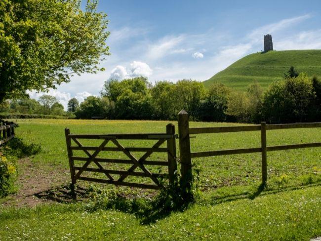 England, Glastonbury, Tor