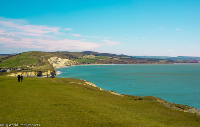 England, Isle of Wight, Cliffs