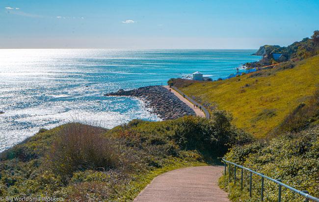 England, Isle of Wight, Walking Trail