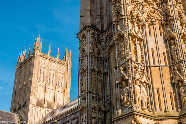 England, Somerset, Wells Cathedral