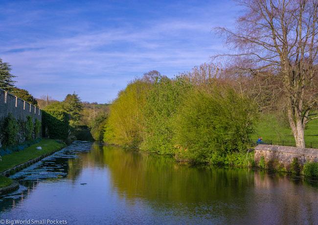 England, Somerset, Wells Moat