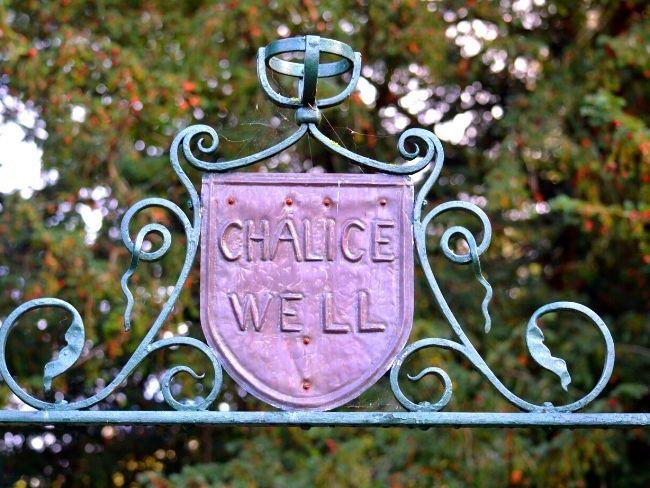 UK, Glastonbury, Chalice Well