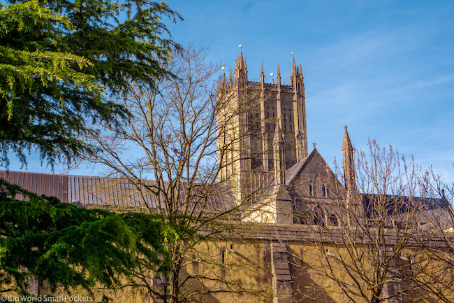 UK, Somerset, Wells Cathedral