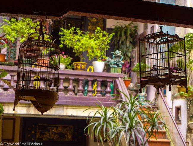 Vietnam, Hanoi, Bird Cages