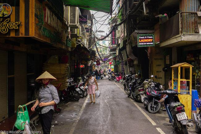 Vietnam, Hanoi, Street Action