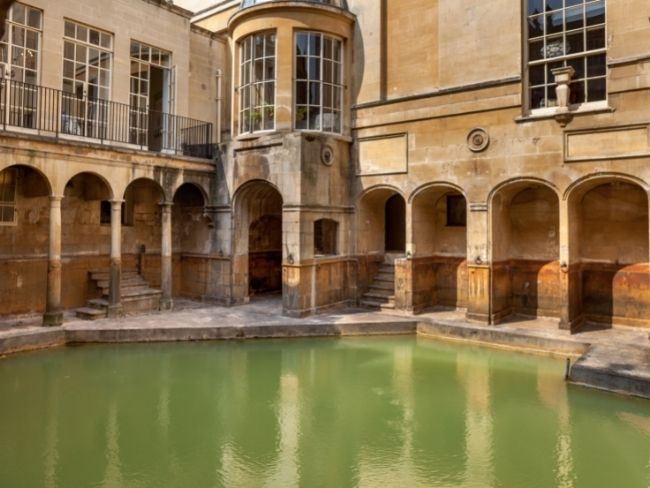 England, Somerset, Roman Baths