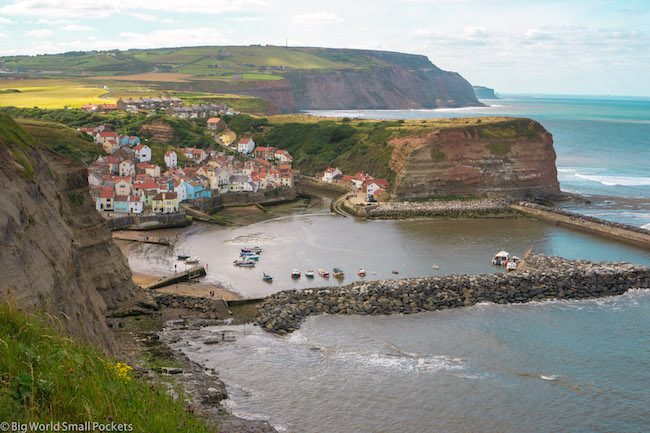 England, Yorkshire, Staithes