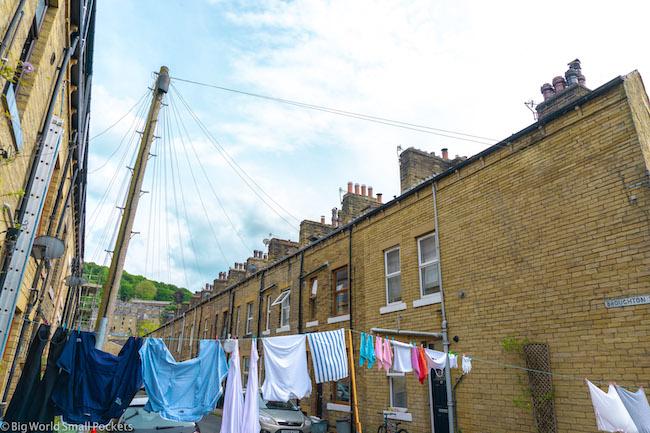England, Yorkshire, Washing Line