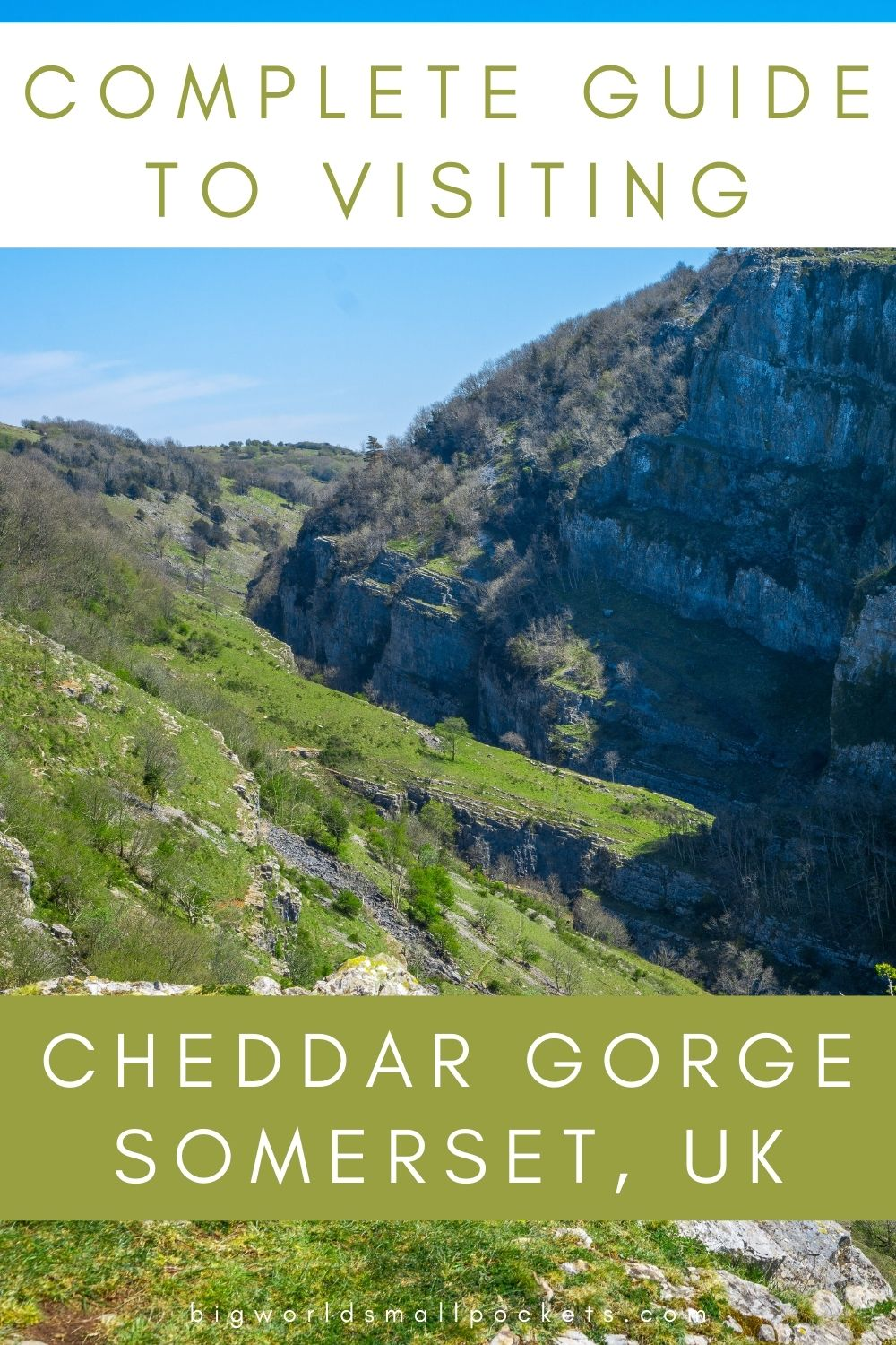 The Ultimate Guide to Visiting Cheddar Gorge in Somerset, England