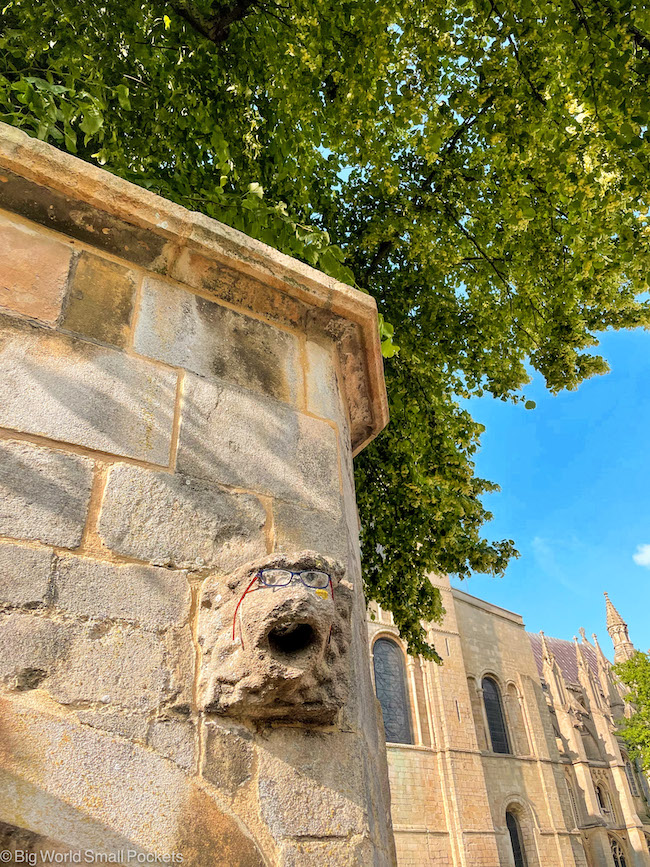 Cambridgeshire, Ely, Cathedral Gargoyle