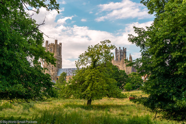 Cambridgeshire, Ely, Cathedral View