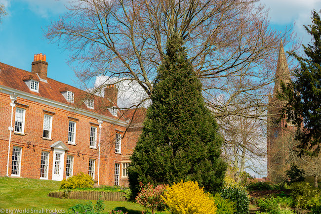 England, New Forest, Historic Home