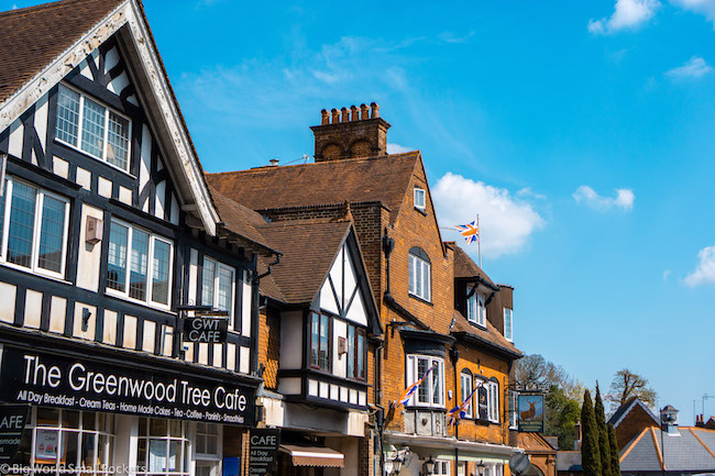 England, New Forest, Tudor Building