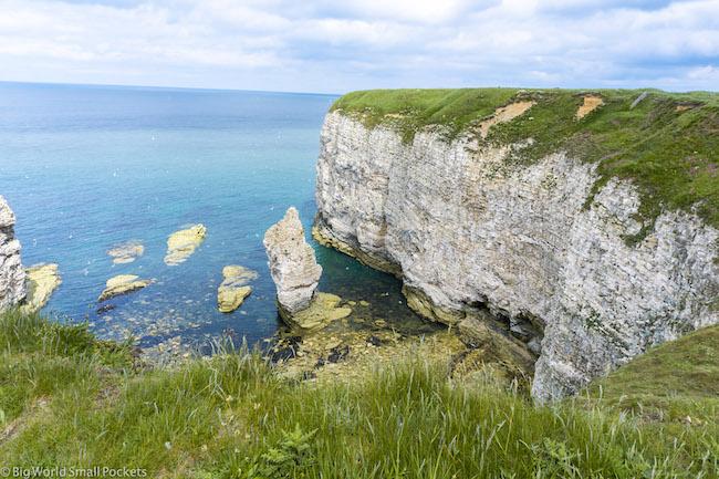 England, Yorkshire Coast, Flamborough Cliff