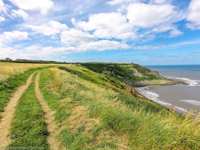 England, Yorkshire Coast, Walking Trail