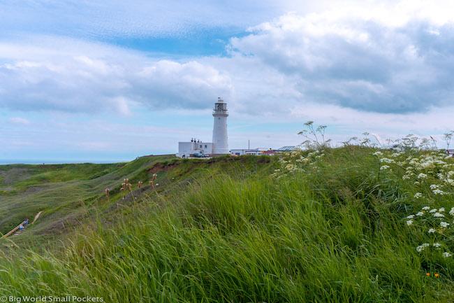 England, Yorkshire, Flamborough Lighthouse