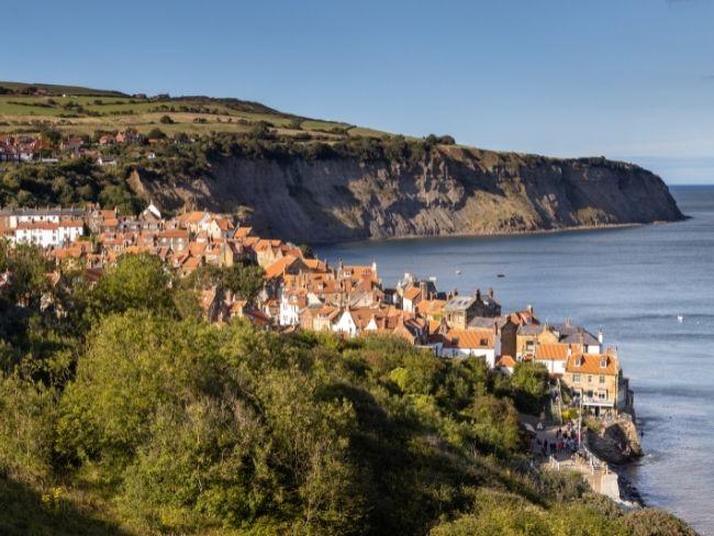 England, Yorkshire, Robinn Hoods Bay