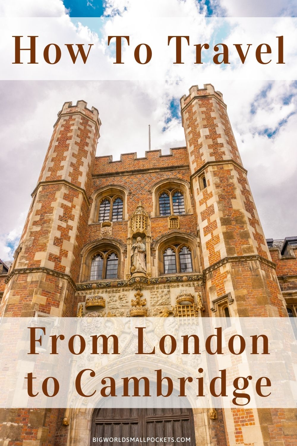 How To Travel From London to Cambridge, England