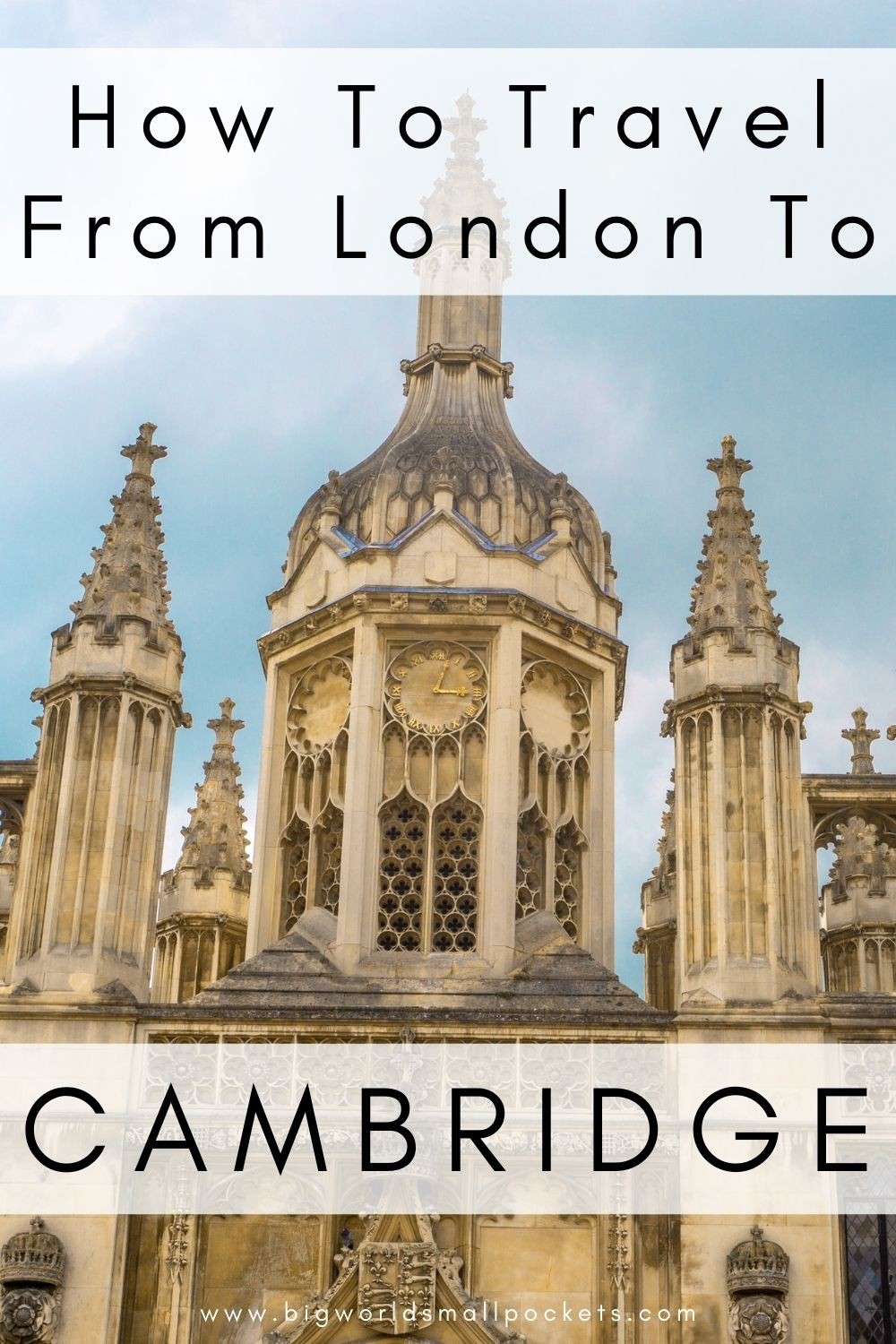 How To Travel From London to Cambridge, UK