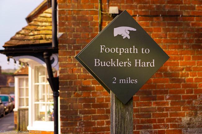 UK, New Forest, Beaulieu Walk
