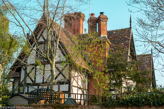 UK, New Forest, Historic Home